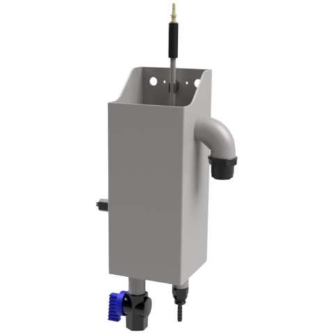 Barilotto di campionamento in acciaio inox con contatto di livello